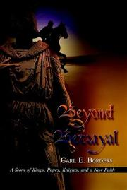 Cover of: Beyond Betrayal | Carl E. Borders