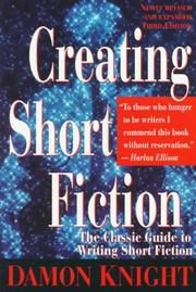 Cover of: Creating short fiction