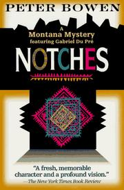 Cover of: Notches
