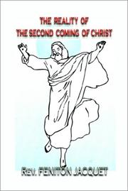 Cover of: The Reality of the Second Coming of Christ