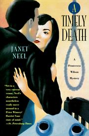 Cover of: A timely death