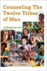 Cover of: Counseling the Twelve Tribes of Man | Joseph B. Lumpkin