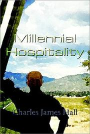 Cover of: Millennial Hospitality | Charles James Hall
