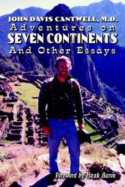 Cover of: Adventures on Seven Continents And Other Essays | Delete