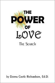 Cover of: The Power of Love | Ed D. Donna Castle Richardson