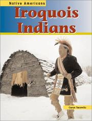 Cover of: Iroquois Indians (Native Americans) | Caryn Yacowitz