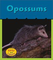 Cover of: Opossums (What