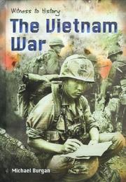 Cover of: The Vietnam War (Witness to History)