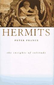 Cover of: Hermits | Peter France