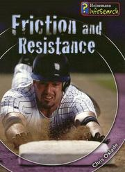 Cover of: Friction And Resistance (Fantastic Forces)