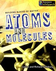 Cover of: Atoms and Molecules (Building Blocks of Matter)