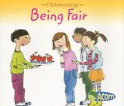 Cover of: Being Fair (Citizenship) | Cassie Mayer