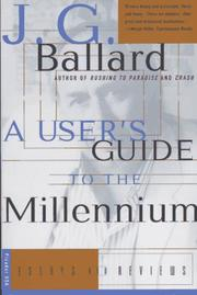 Cover of: A user's guide to the millennium: essays and reviews