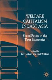 Cover of: Welfare capitalism in East Asia |