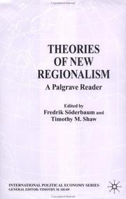 Cover of: Theories of New Regionalism |