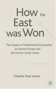 Cover of: The How the East was Won | Charles Paul Lewis