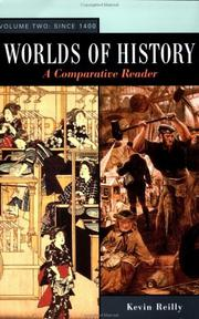 Cover of: Worlds of History: A Comparative Reader