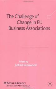 Cover of: The Challenge of Change in EU Business Associations