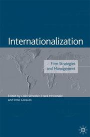 Cover of: Internationalization by