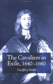 Cover of: The Cavaliers in Exile | Geoffrey Smith