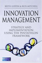 Cover of: Innovation Management | Keith Goffin, Rick Mitchell