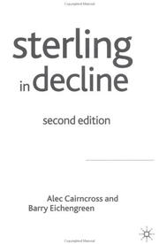 Cover of: Sterling in Decline