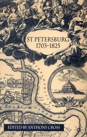 Cover of: St. Petersburg, 1703-1825 | edited by Anthony Cross.