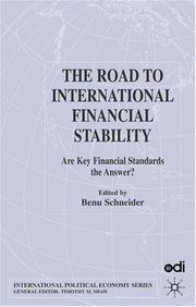 Cover of: The road to international financial stability |