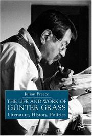 Cover of: life and work of Gunter Grass | Julian Preece