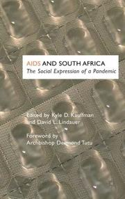 Cover of: AIDS and South Africa: The Social Expression of a Pandemic