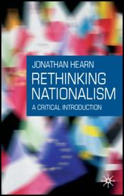 Cover of: Rethinking Nationalism | Jonathan Hearn