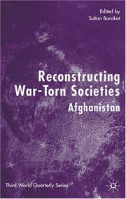 Cover of: Reconstructing War-Torn Societies | Sultan Barakat
