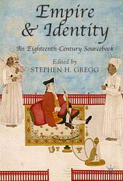 Cover of: Empire and Identity | Stephen Gregg