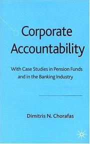 Cover of: Corporate Accountability | Chorafas, Dimitris N.