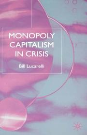 Cover of: Monopoly Capitalism in Crisis