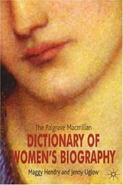 Cover of: The Palgrave Macmillan dictionary of women