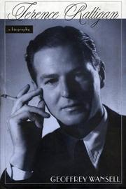 Cover of: Terence Rattigan