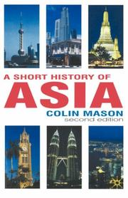 Cover of: A short history of Asia | Colin Mason