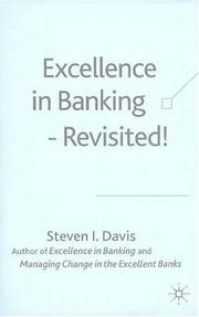 Cover of: Excellence in Banking-Revisited!