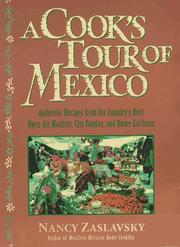 Cover of: A cook's tour of Mexico