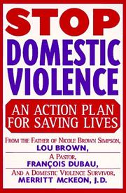 Cover of: Stop domestic violence