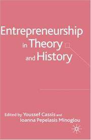 Cover of: Entrepreneurship In Theory And History |