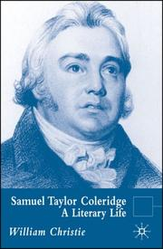 Cover of: Samuel Taylor Coleridge: A Literary Life (Literary Lives)