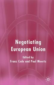 Negotiating European Union by