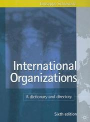 International organizations by Giuseppe Schiavone