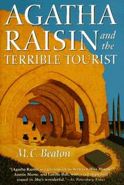Cover of: Agatha Raisin and the terrible tourist