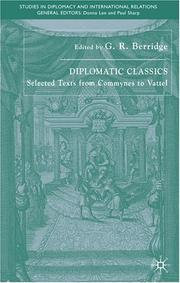 Cover of: Diplomatic Classics | G. R. Berridge