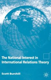 Cover of: The National Interest in International Relations Theory
