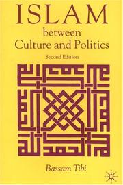 Cover of: Islam between culture and politics