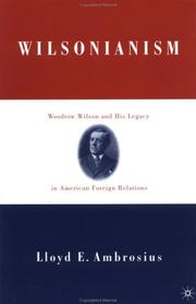 Cover of: Wilsonianism